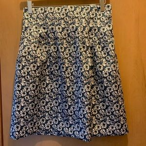 H&M Structured Floral Skirt New w/ Tags!